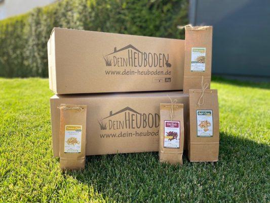 Plastikfreie Verpackungen in unserem Online-Shop