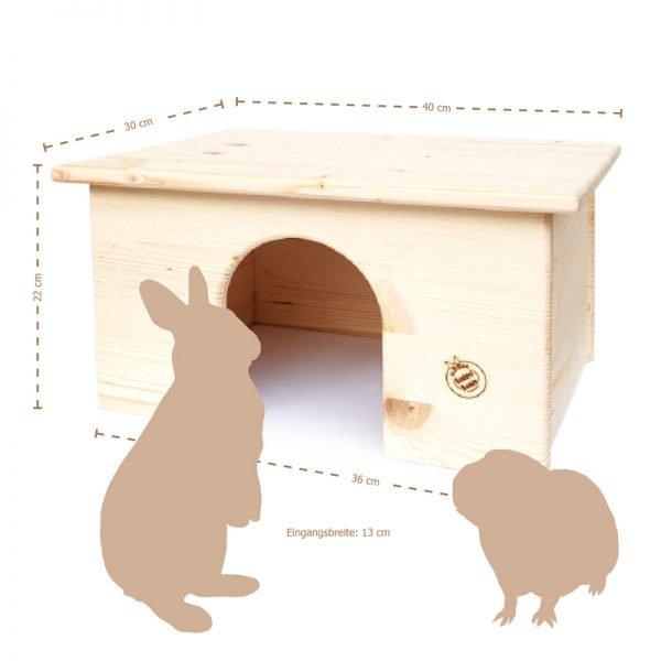 Kaninchenhaus (für die Wohnung)